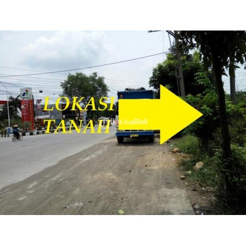 Jual Tanah Luas di Depan SPBU Pucanggading Cocok Untuk Industri dan Gudang Terjangkau - Semarang