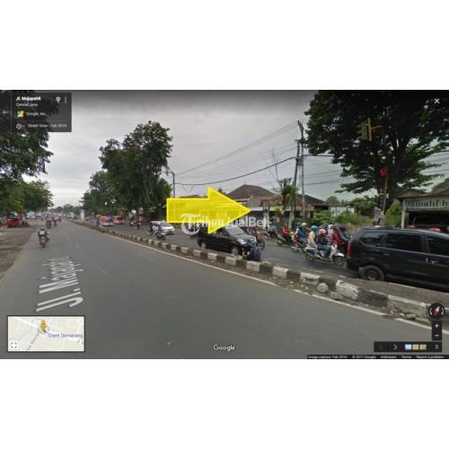 Jual Tanah Kotak Pinggir Jalan Majapahit Cocok Untuk Gudang dan Industri Murah Strategis - Semarang
