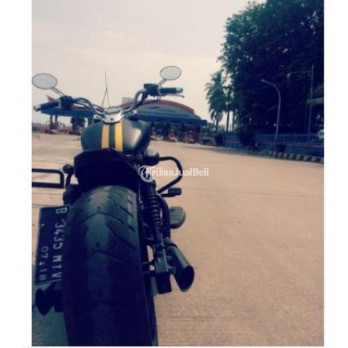 Motor Gede Moge Kaisar Ruby Custom Tahun 2013 Second Harga Murah - Tangerang