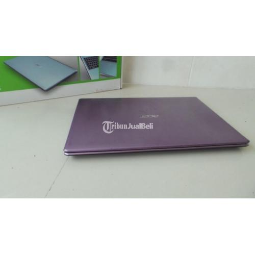Laptop Acer V5-431 Slim Ram 2GB Fullset Mulus Like New Cocok Buat Kuliah - Solo