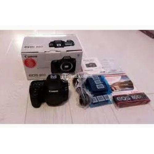Kamera Camera Semipro Canon EOS 80D New Harga Murah - Bali