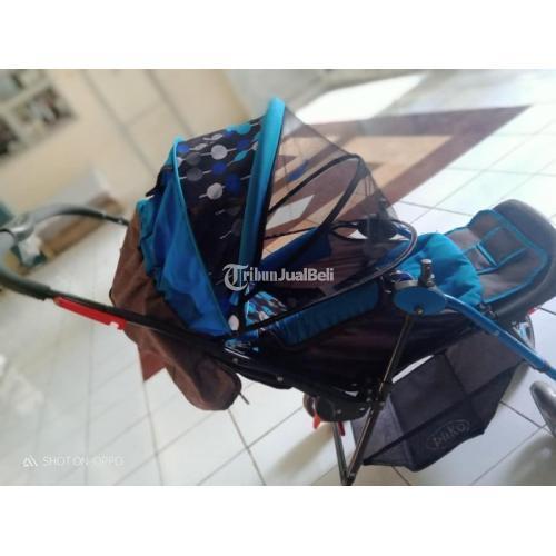 Stroller Bayi Murah Merek Pliko Second Like New Terawat Normal - Manado