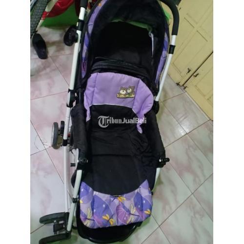 Stroller Bayi Murah Second Mulus Normal Posisi Bisa Diubah Siap Pakai - Makassar