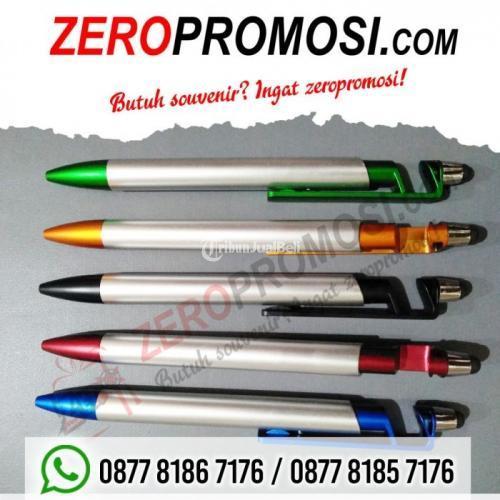 Souvenir Pulpen Multifungsi STYLUS dan JEPIT HP 1138 - Tangerang
