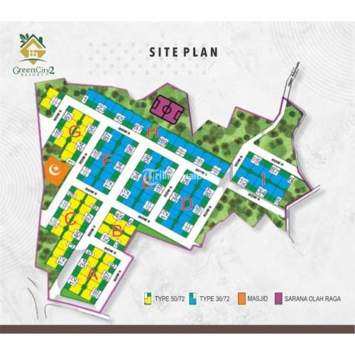 Dijual Perumaha Green City Resort 2 Girimekar View Indah - Bandung