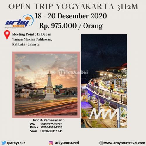 Open Trip Yogyakarta 3 Hari 2 Malam Desember 2020 Fasilitas Lengkap - Jakarta