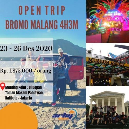 Open Trip Bromo-Malang 4H3M Paker Murah - Jakarta Pusat