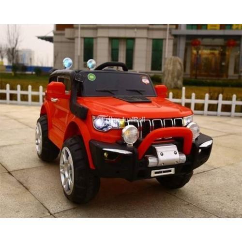 Mobil Aki Murah Mainan Anak Jeep Compass Remote Control Baru - Bali