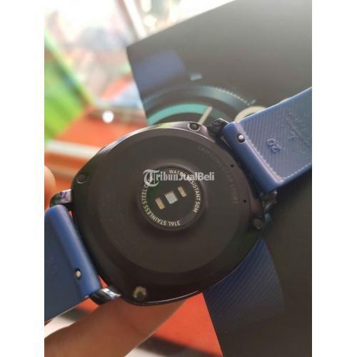 Smartwatch Murah Samsung Gear Sport Bekas Lengkap Normal No Minus - Makassar