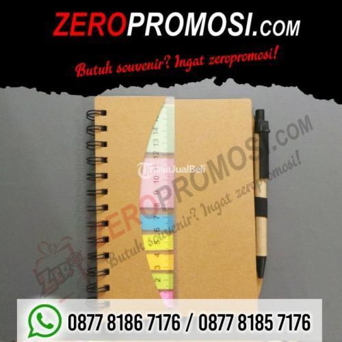 Souvenir Memo Sticky Note Ruler + Post It (N-806) Promosi - Tangerang