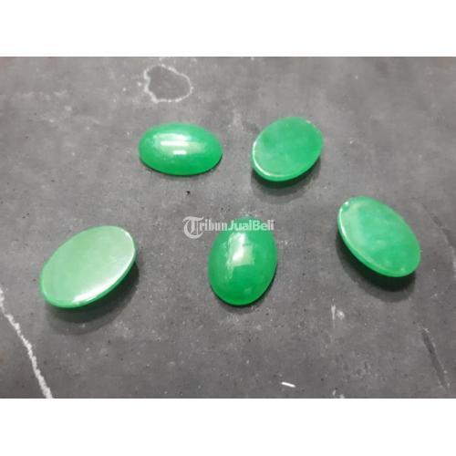 Batu Permata Natural Green Quartz QTZ009 Loose Stone - Jakarta