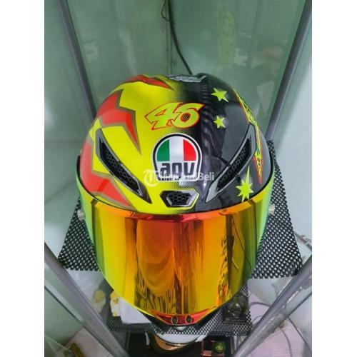 Helm AGV Pista GPR Rossi 20th Year Sun Moon Bekas Harga Rp 10,5 Juta Nego Murah - Jakarta