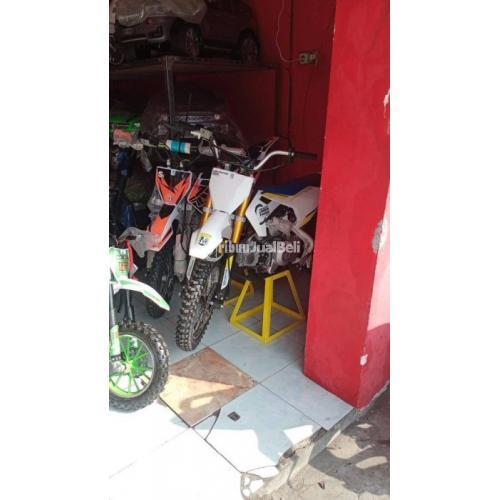 Motor Trail 4tak 110cc Mini Manual Ready Pembayaran COD Siap Antar - Mojokerto