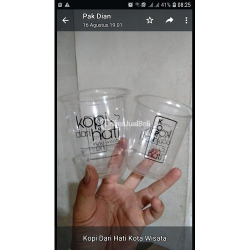 Cari Cup Plastik Sablon Harga Murah & Grosir Terbaru di Tiga Brilliant Packaging - Jakarta