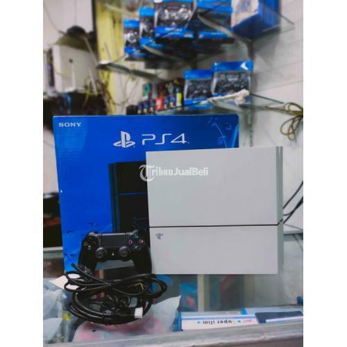 Konsol Game PS4 Fat 500 GB Update Terbaru Normal Bekas Like New - Bogor
