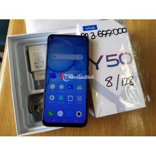 HP Vivo Y50 Fullset Original Bekas Ram 8/128GB Mulus No Minus - Padang