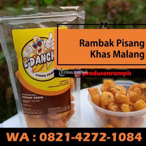Grosir Rambak Pisang Kualitas Premium  - Malang