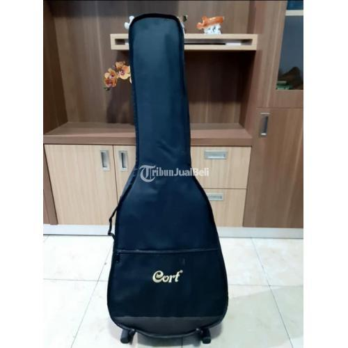 Gitar Cort Akustik Electrik GA-MEDXM OP Bekas Like New Orisinil - Semarang