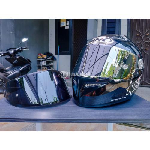 Helm NHK GP Pro Cosmo Black Size M Fullset Second Mulus Harga Nego - Jakarta
