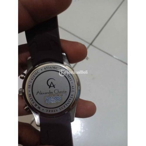 Jam Tangan Alexandre Christie AC6516MC Fullset Bekas Bonus Strap - Bekasi