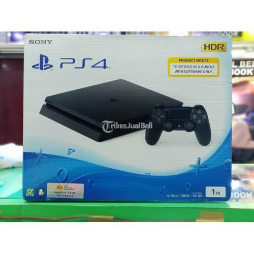 Konsol Game Sony PS4 Slim Original Hdd 1TB Cuh 2218B B01 Bekas Like New - Bandung