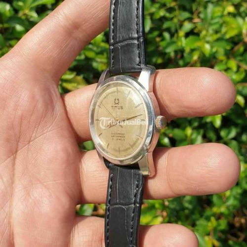 Jam Tangan Male Titus 21 Jewels Diameter 37mm Bekas Fullset - Jakarta Pusat