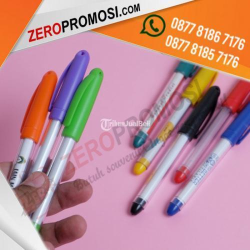 Souvenir Pen Insert Stiker Tinta Jell Banyak Pilihan Warna - Tangerang