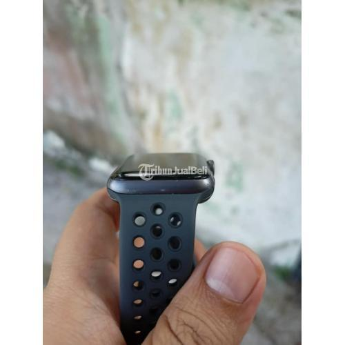 Jam Tangan AppiWatch Series 3 Diameter 42mm Nike Edition Grey Bekas - Balikpapan
