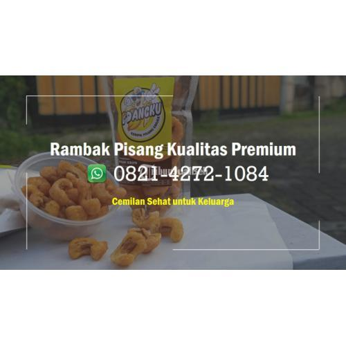 Produksi Rambak Pisang, Camilan Hits Khas - Malang