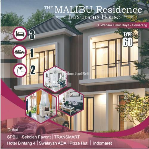 Dijual  1 Unit Rumah SHM Malibu Majapahit Pedurungan Dekat SDK Sang Timur - Semarang