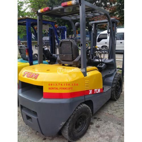 Jasa Sewa Rental Forklift Kebun Jeruk, Grogol, Cengkareng, Taman Sari, Palmerah - Jakarta Barat