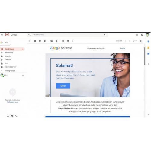 Google Adsense Cara Menghasilkan Uang Dari Website Blog Aplikasi Android - Bandung
