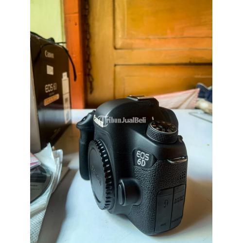 Kamera DSLR Canon EOS 6D Wifi BO Bekas Normal Mulus No Vignet - Jakarta