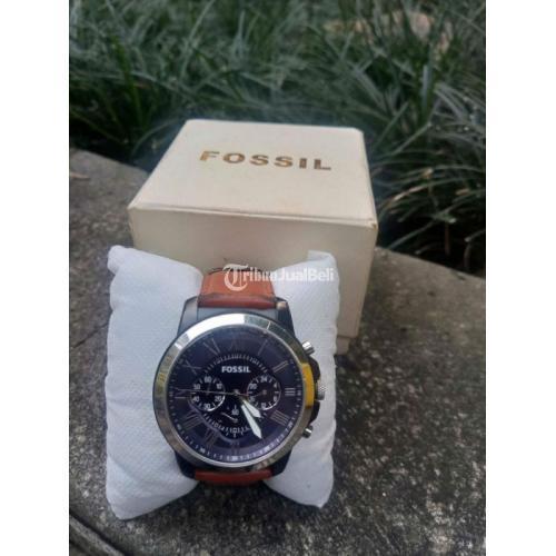 Jam Tangan Fossil FS5151 Grant Chronograph Bekas Normal Original - Bogor