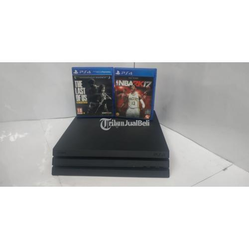 Konsol Game Sony PS4 Pro 1 TB Original Bekas Normal Segel Void- Bandung
