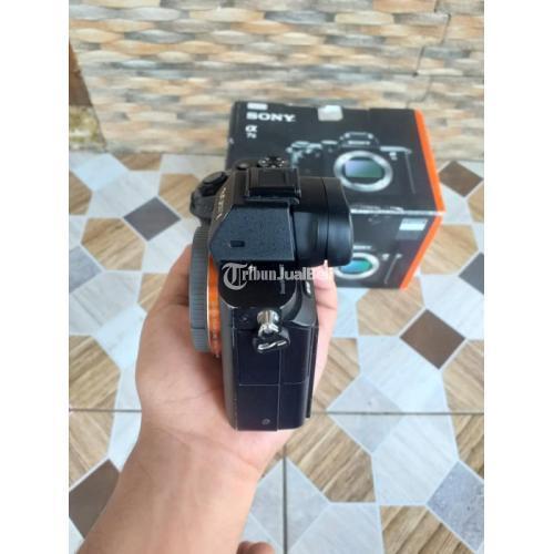 Kamera Mirrorless Sony a7II Fullset SC 18rban Bekas Normal Mulus - Pemalang