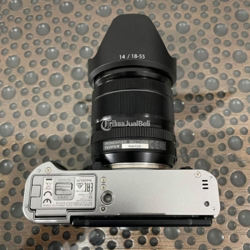 Kamera Fujifilm XT30 Kit Fujinon XF 18-55mm f2.8-4 Mulus Fullset Bekas - Bekasi