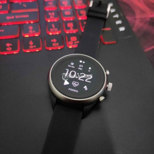 Jam Tangan Smartwatch Fossil Sport Gen 4 Original Bekas No Box - Surabaya