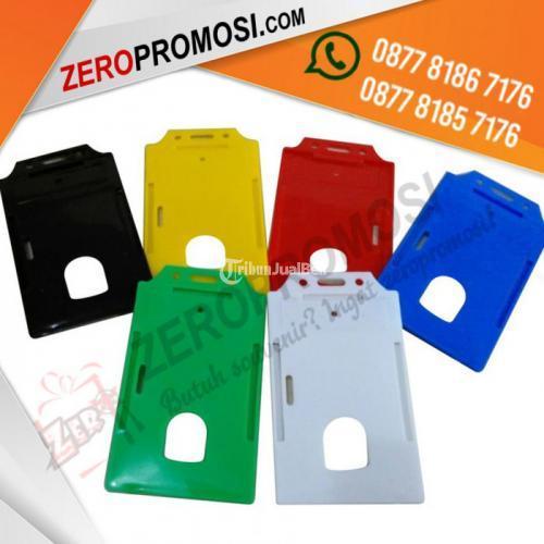 Souvenir Casing ID Card Plastik Kapasitas 1 kartu Termurah - Tangerang