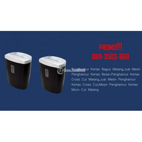 Supplier Mesin Penghancur Kertas Heavy Duty - Malang