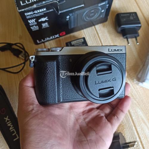 Kamera Mirrorless Panasonic Lumix GX85K Bekas Fungsi Normal - Bandung