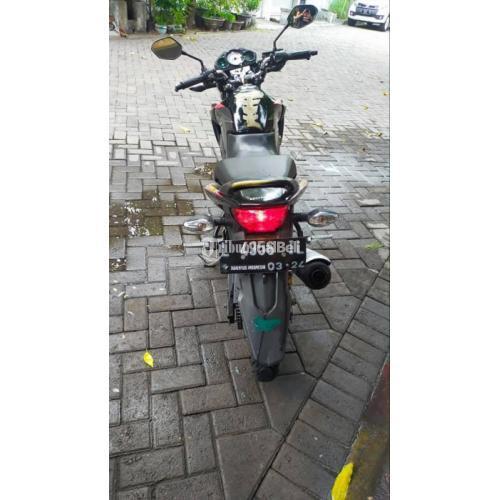 Motor Honda CB150R StreetFire 2014 Bekas Hitam Surat Lengkap - Surabaya