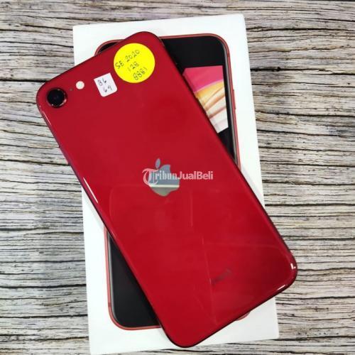 HP iPhone SE second original Inter Fullset Fungsi Normal Bisa TT - Yogyakarta