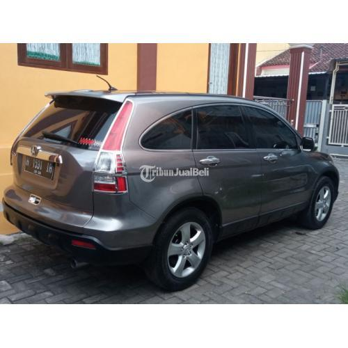 Mobil Honda CR-V 2.0 Manual 2007 Bekas Pajak On Mesin Normal - Semarang