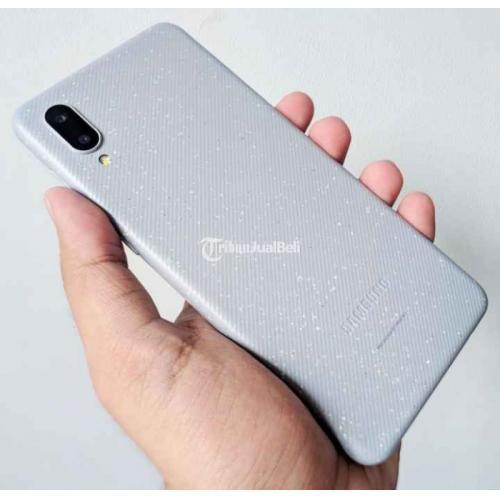 HP Samsung Galaxy A02 RAM 3/32GB Fullset Baru Harga Promo - Denpasar