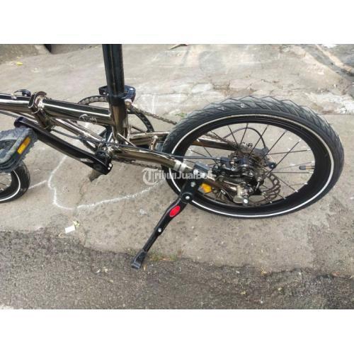 Sepeda Lipad Troy X10 Black Diamon Bekas 10 Speed Harga Nego - Jakarta Timur