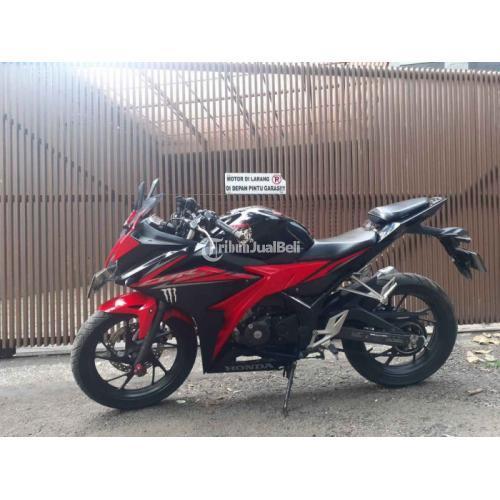 Motor Honda CBR 150 2018 Black Red Bekas Body Mulus Harga Nego - Bandung