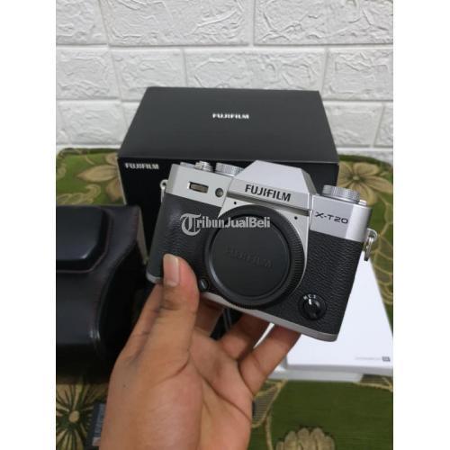 Kamera Fujifilm X-T20 Body Only Bekas Fullset Fungsi Normal Body Mulus - Surabaya