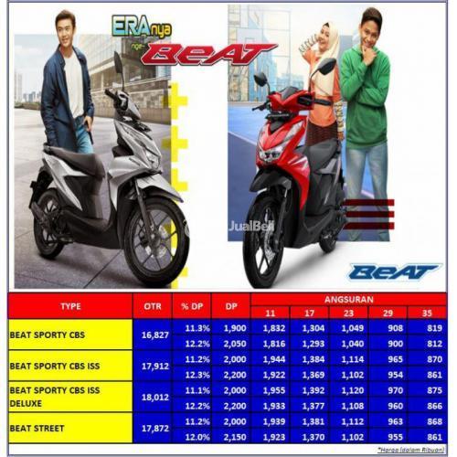 Honda Beat Deluxe [ Promo Kredit ] Diler Resmi Kawa Motor - Jakarta Selatan