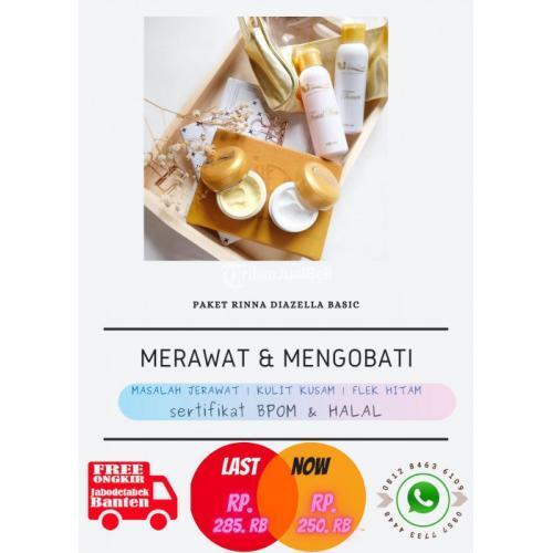 Cara Menggunakan Serum Lightening Gold Skincare Rinna Diazella di Muka - Jakarta Pusat